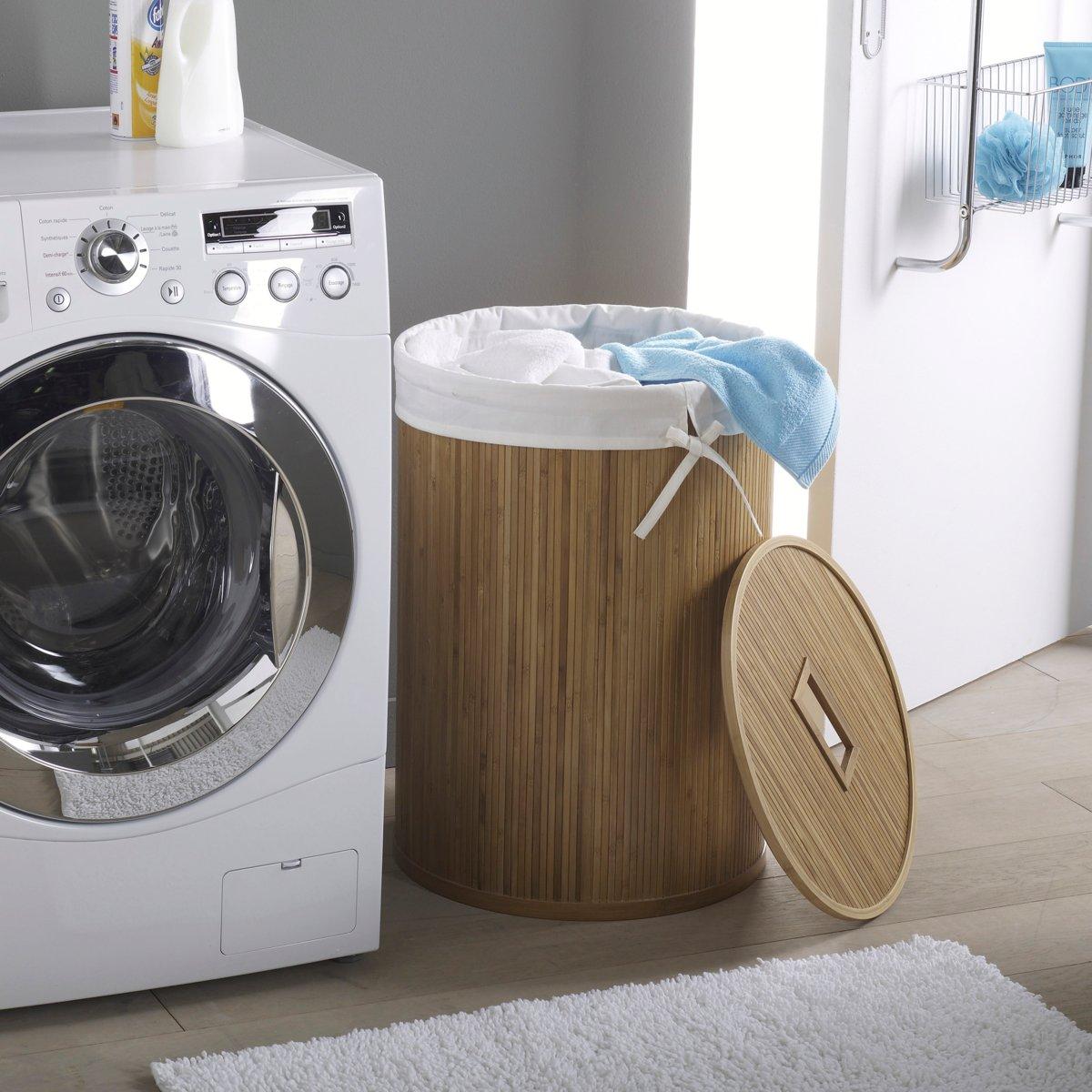 panier linge exotique 20 id es d co pour votre salle de bain salle de bain s lection. Black Bedroom Furniture Sets. Home Design Ideas