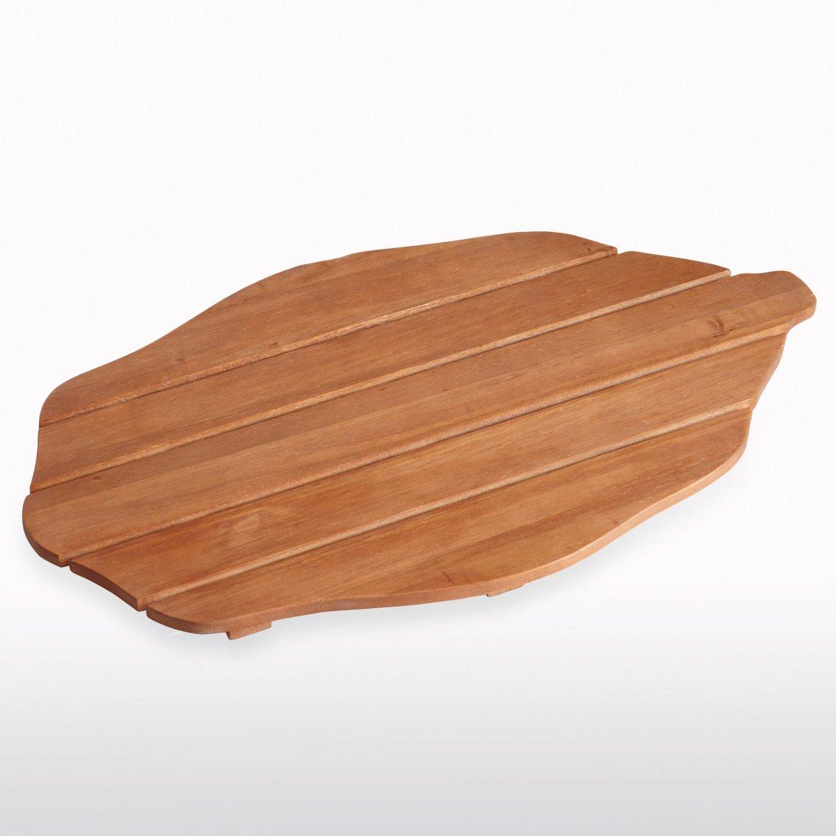 Caillebotis en bois - 18 idées déco pour votre salle de bain