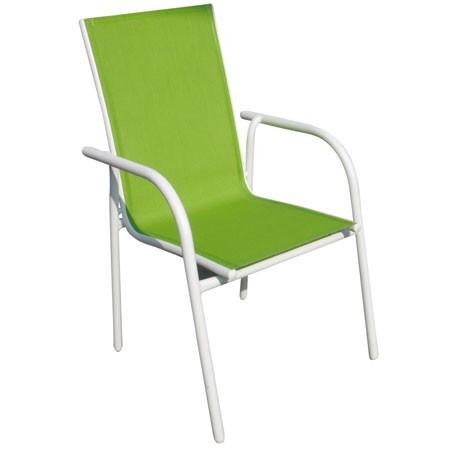 fauteuil en alu et textilène : le confort avant tout ! - chaises