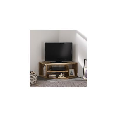 Meubles tv hifi meubles de salon s lection shopping - Meuble tv angle verre ...