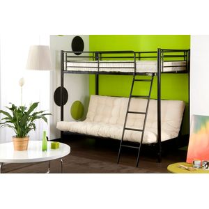 lits mezzanines pour gagner de la place lits s lection shopping. Black Bedroom Furniture Sets. Home Design Ideas