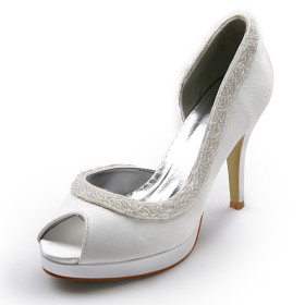 Chaussures de soirée blanches femme ApctFDh2G