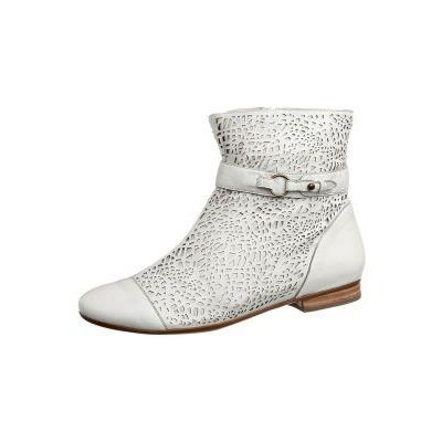 2c51787530665e 45.00 € LightInTheBox · Bottines blanches avec fermeture éclair EVRYBODY